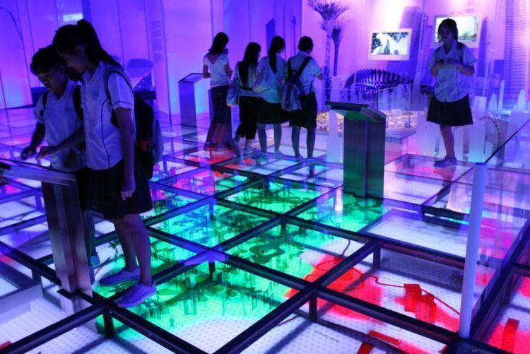 Sustainable Singapore Gallery di Marina Barrage