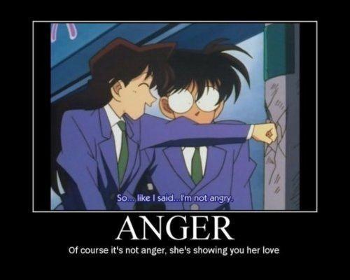 Oh, bukan marah, tapi cinta