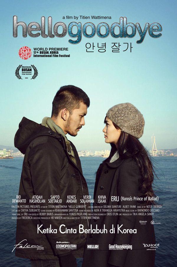 Rio dan Atiqa dalam film Hello Goodbye