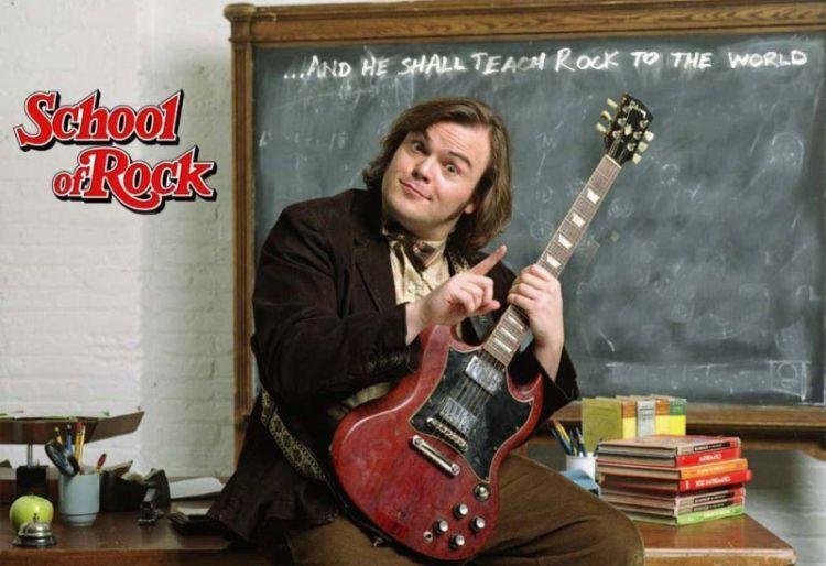 Jack Black jadi guru musik rock anak SD