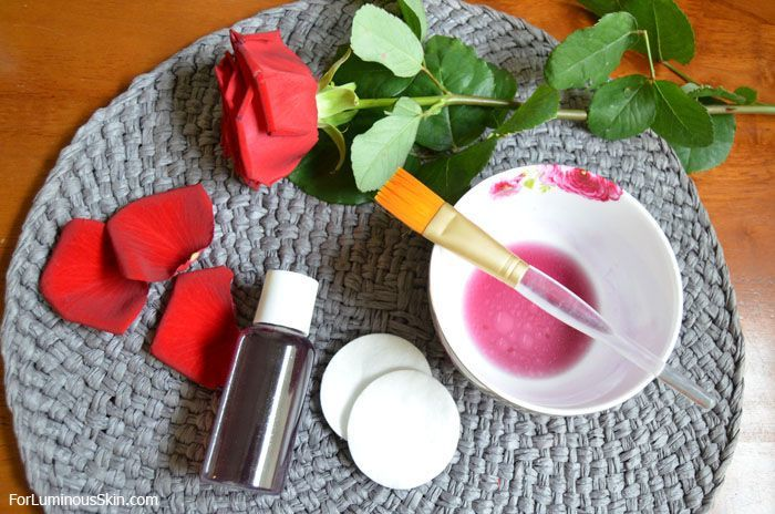 Rose Petal Mask. Hmmmm wangi