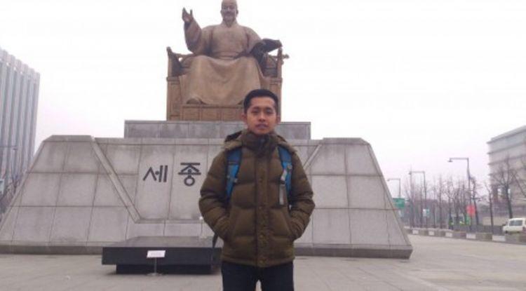 oka danil beasiswa di korea