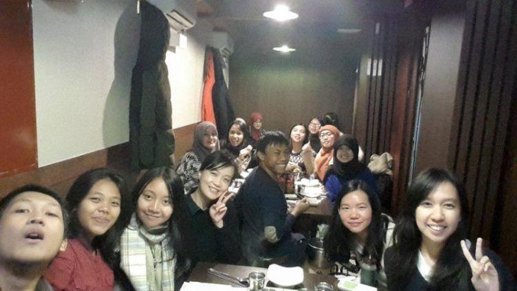Mahasiswa Indonesia di Kyung Hee University (dok. Pribadi)