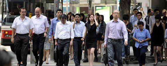 Pekerja di Singapura