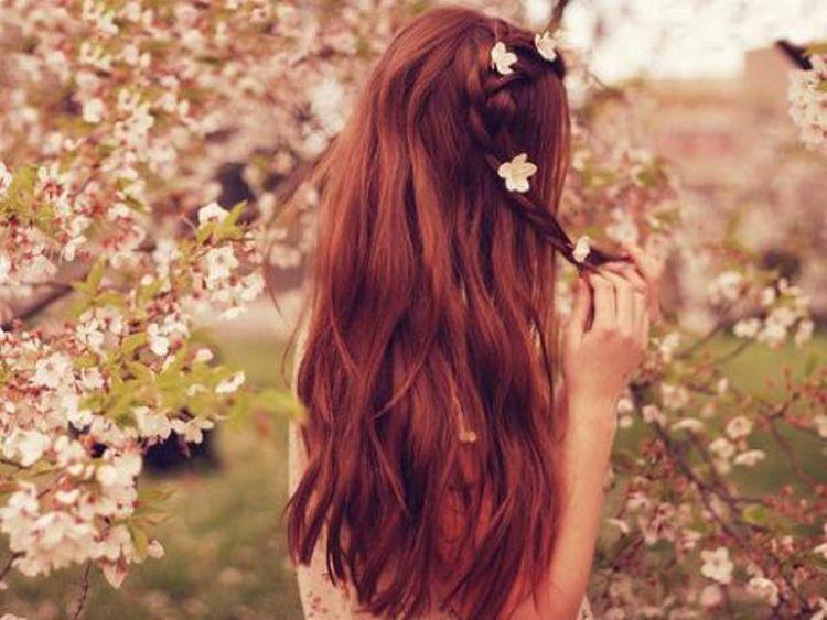 Фото красивых рыжих со спины 22 фотография