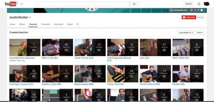 Akun YouTube-nya memudahkanmu untuk belajar gitar