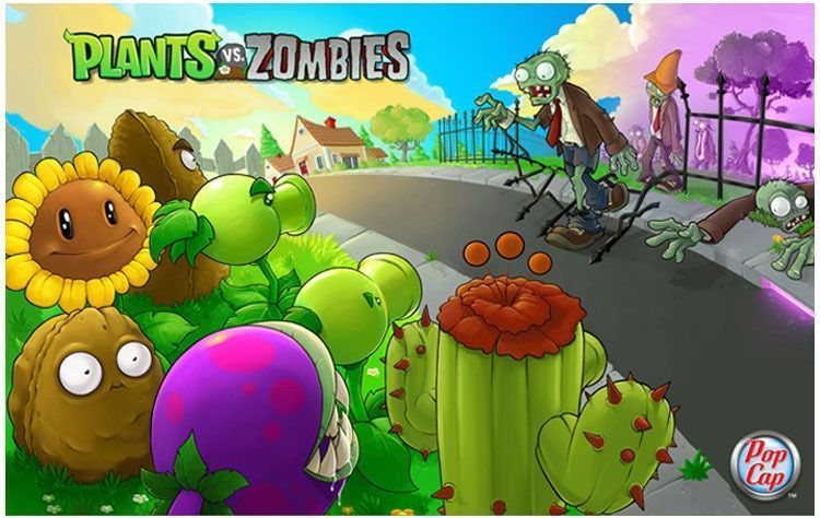Zombie aja kalah sama tanaman