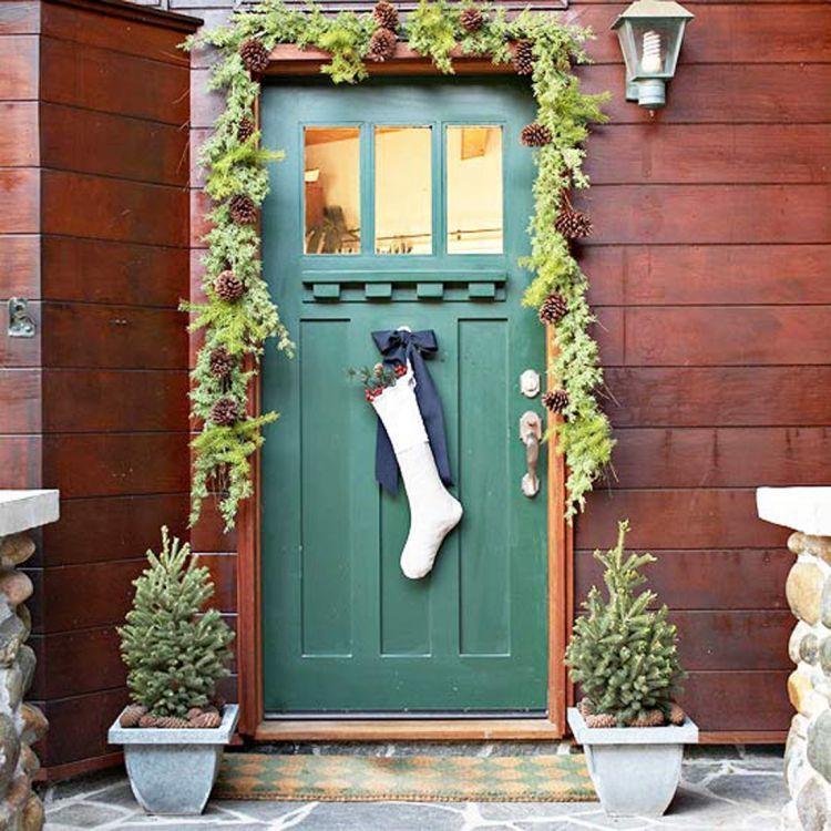Dekorasi pintu rumah yang indah