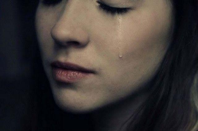 air mata yang telah jatuh