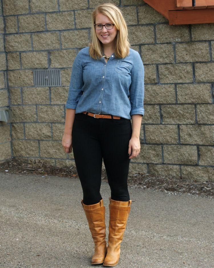 Jeans + boots = kece
