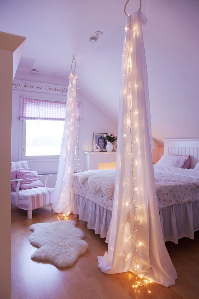 Dekorasi kamar pengantin yang romantis dan indah