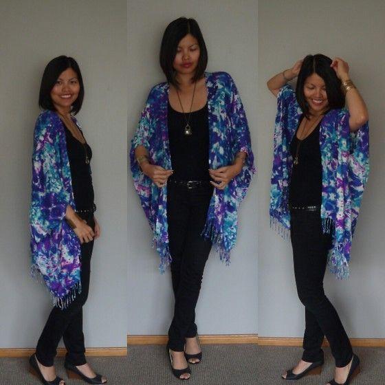 Jeans dan kimono