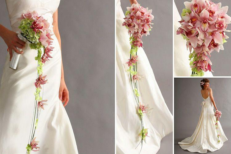 BUket bunga pernikahan unik