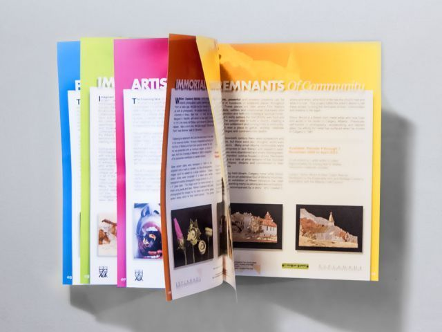 Katalog bisa didapatkan dalam pameran seni
