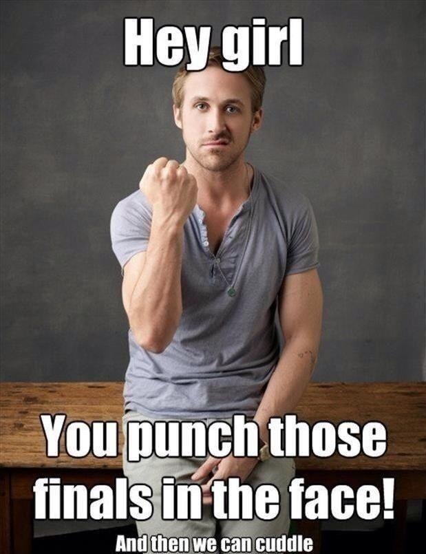Masih ada Ryan Gosling yang bisa menyemangati