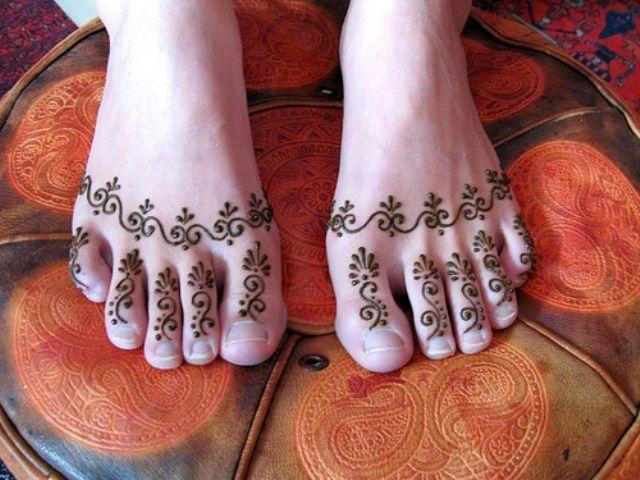 Desain gambar tatto henna lucu
