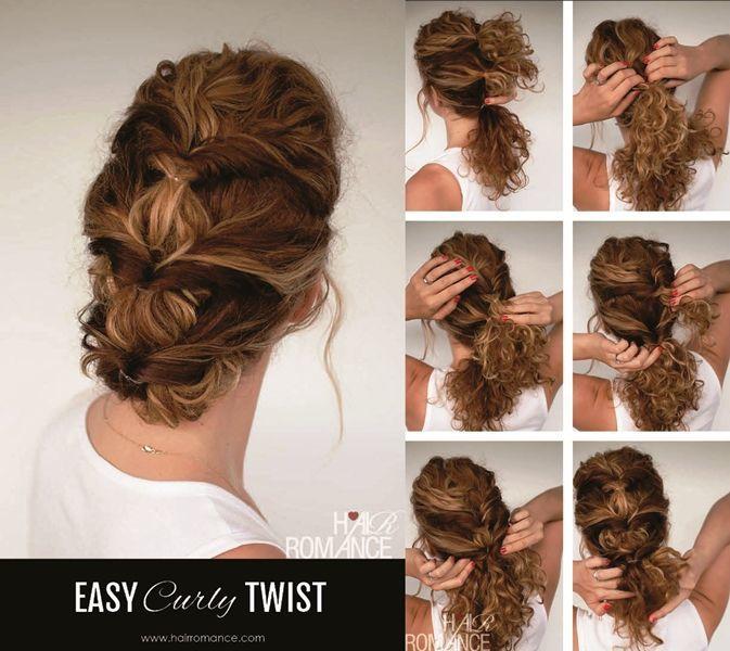 Gaya Rambut Unik Untuk Kamu Yang Punya Rambut Lebat Dan Keriting - Tutorial hairstyle untuk rambut tipis