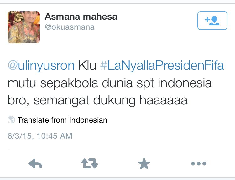 Indonesia nggak perlu susah-susah ngikutin standart internasional