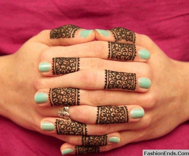 Desain gambat tato henna
