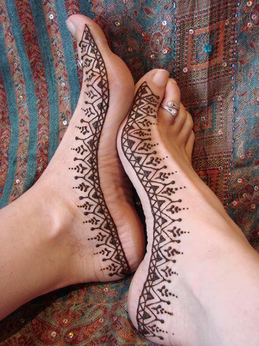 Desain tatto henna yang indah