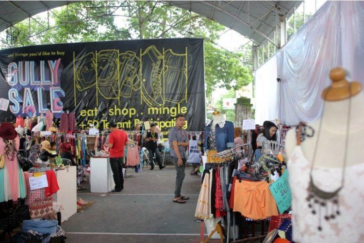 ikut berbagai event bazar