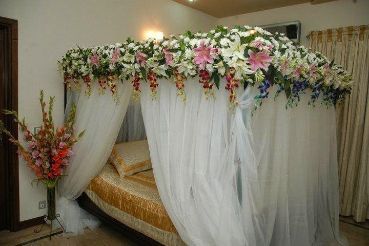 Kamar pengantin romants dan indah
