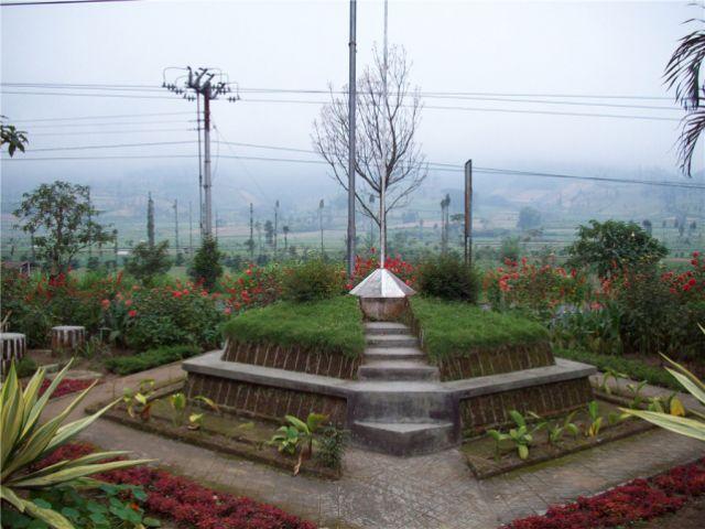 kledung pass, pas di tengah-tengah Sindoro Sumbing