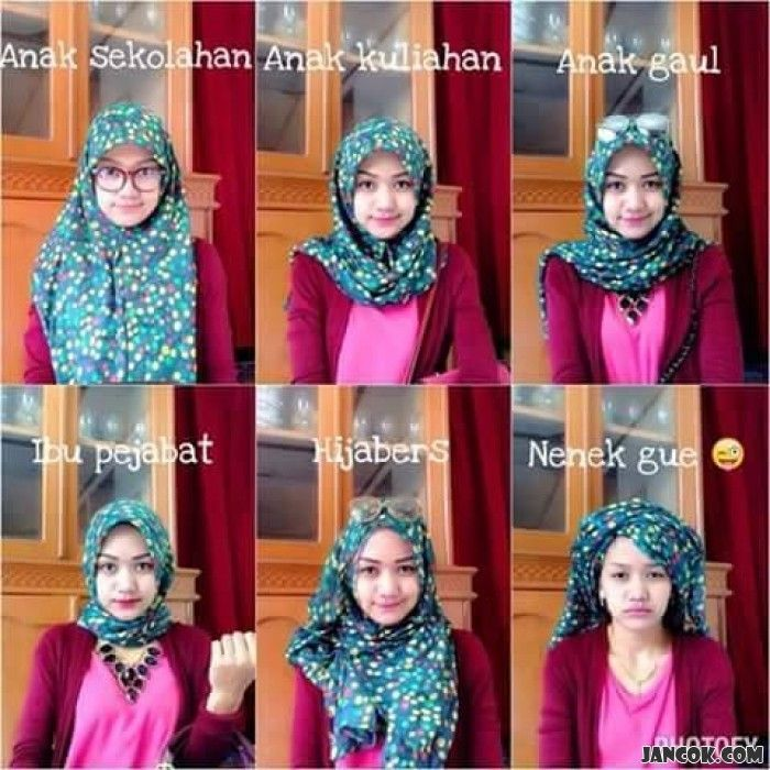 Beraneka ragam jilbab