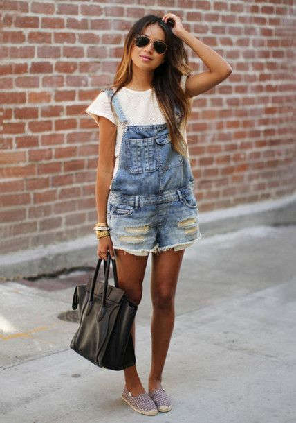 Romper jeans