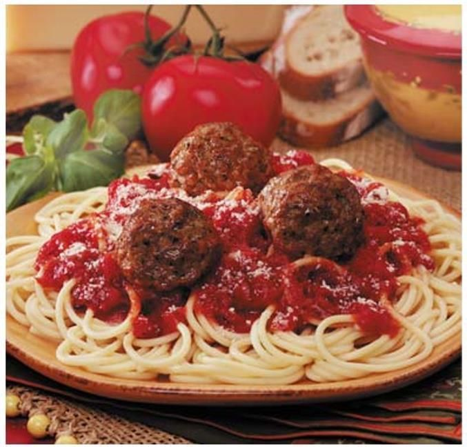 Resep spageti bakso
