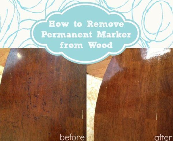 Pasta gigi untuk menghilangkan noda permanen di kayu