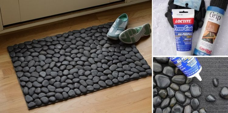 Bikn keset batu untuk dekorasi rumah