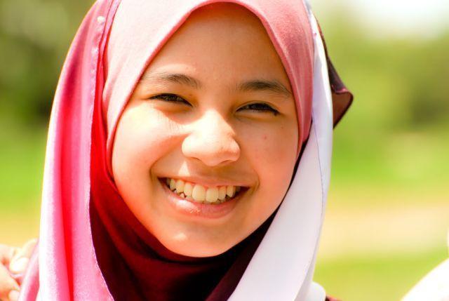 senyum dari hati