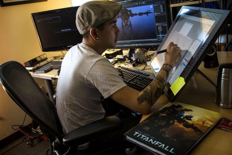 Game artist kerjaannya mirip animator