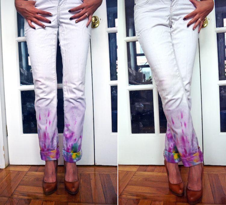 DIY Jeans unyu