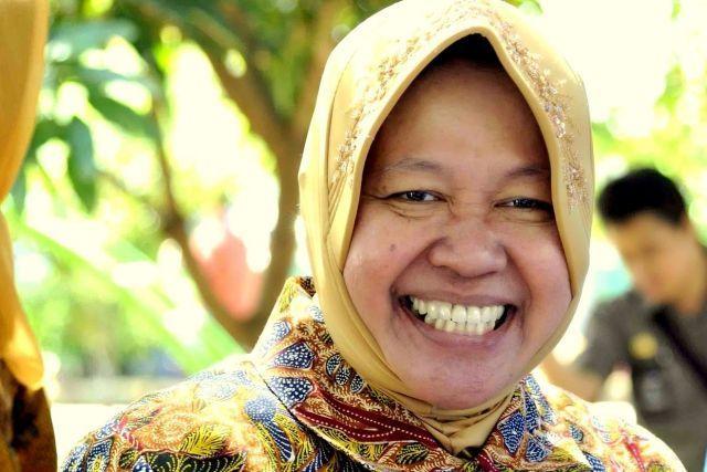 Bu Risma idola warga Surabaya