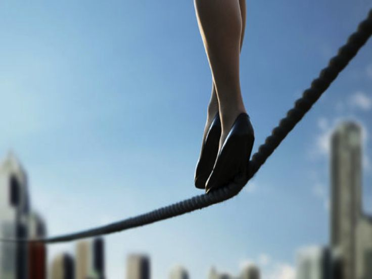 Walking on a rope