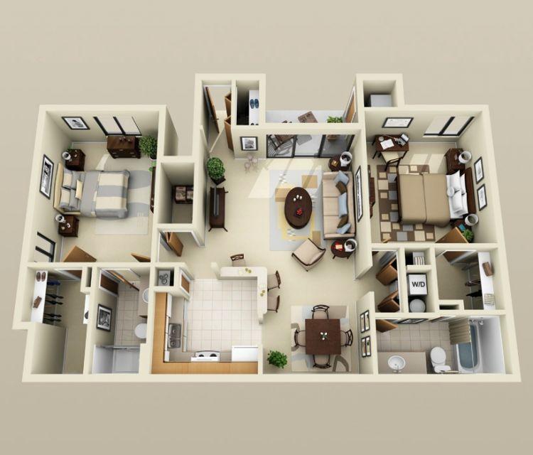 Desain rancangan bikin rumah sederhana untuk keluarga