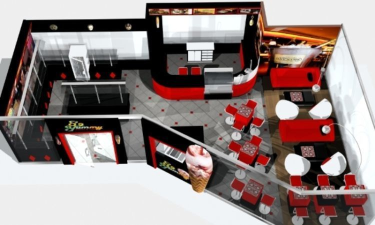 Desain ruangan buat kafe yang unik