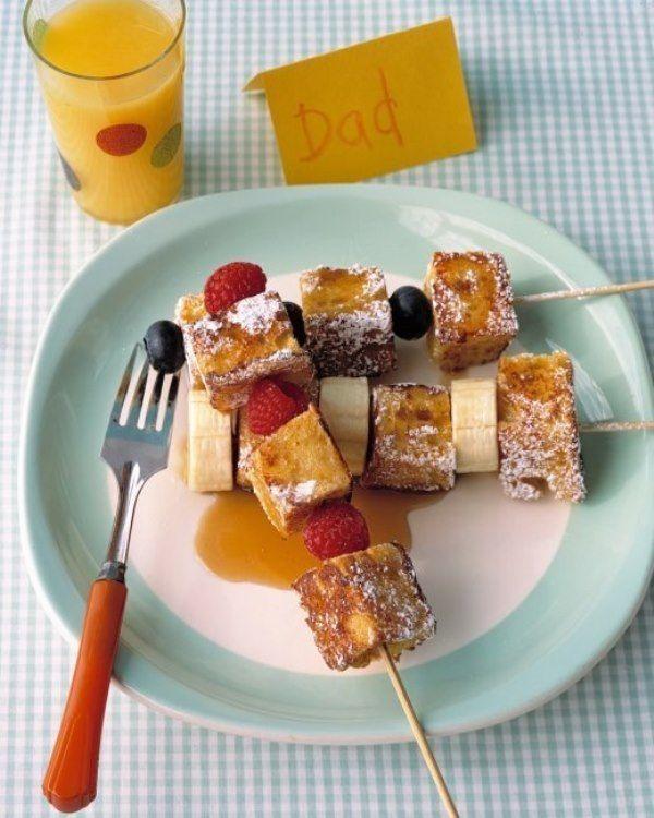 Cara membuat sate french toast