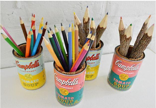 Membuat kaleng bekas jadi lebih POP! dengan Soup Can ala Andy Warhol