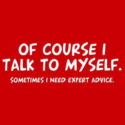 bicara pada diri sendiri guys?
