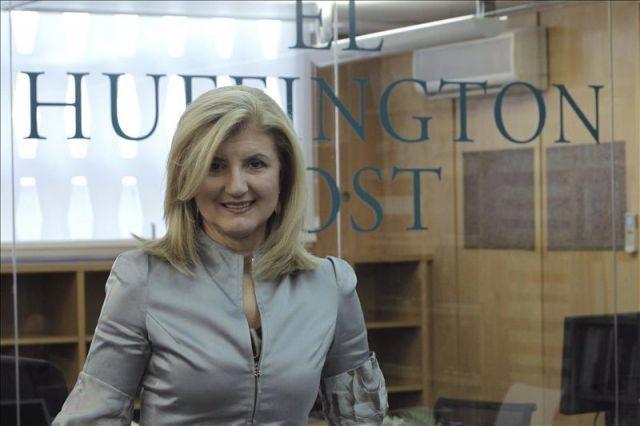 Arianna Huffington, pemilik The Huffington Post.