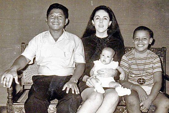 Ibu Presiden Obama bersuamikan pria indonesia saat penelitian