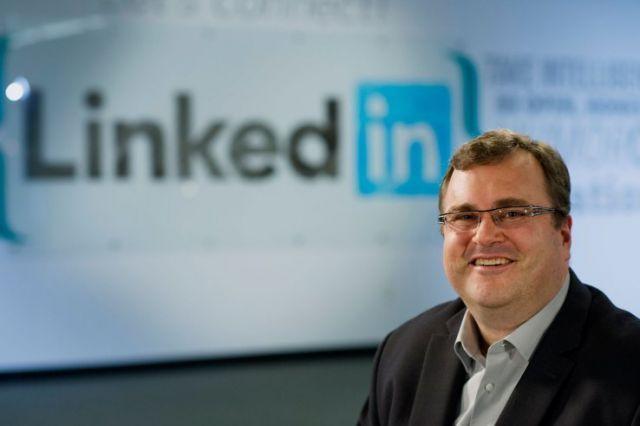 Pendiri LinkedIn, Reid Hoffman.