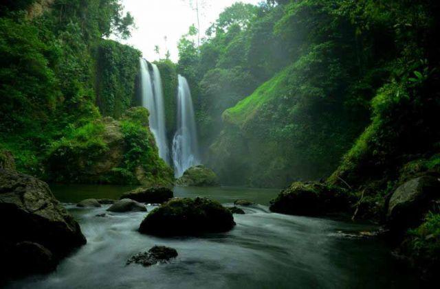Indahnya Air Terjun Blang Kolam