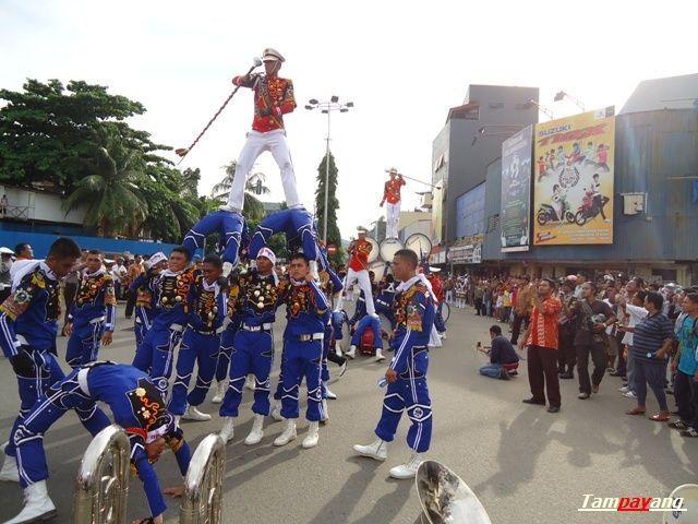 Marching Band Gita Abdi Praja IPDN di Ambon - Maluku