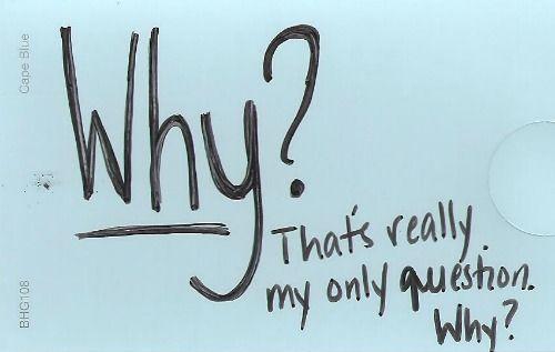 dulu pertanyaan itu selalu memenuhi kepalaku