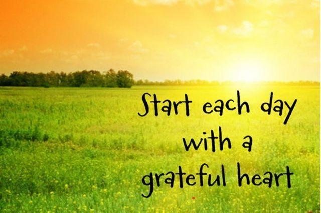 Selalu bersyukur setiap hari :)