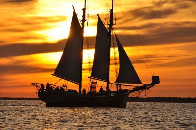 sunset cruise in key largo